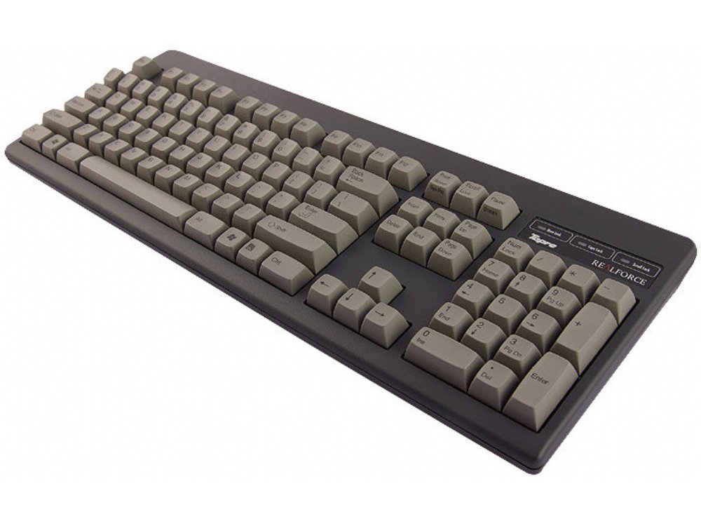 USA Topre Realforce 104UG HiPro 45g Black Keyboard, picture 3