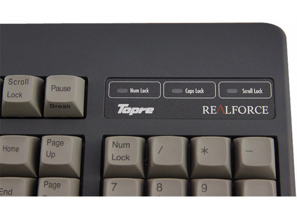 USA Topre Realforce 104UG HiPro 45g Black Keyboard, picture 5