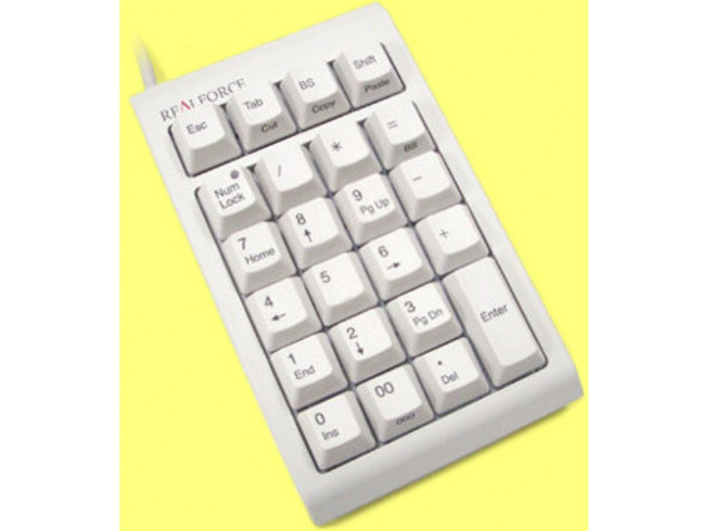 Topre Realforce 23U Beige Capacitive Keypad, picture 1