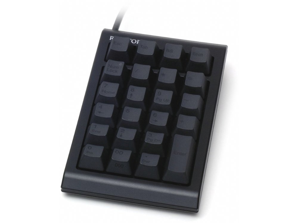 Topre Realforce 23UB Black Capacitive Keypad