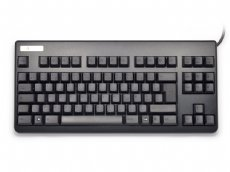 French Topre Realforce 88UB 45g Key Black on Black Tenkeyless Keyboard