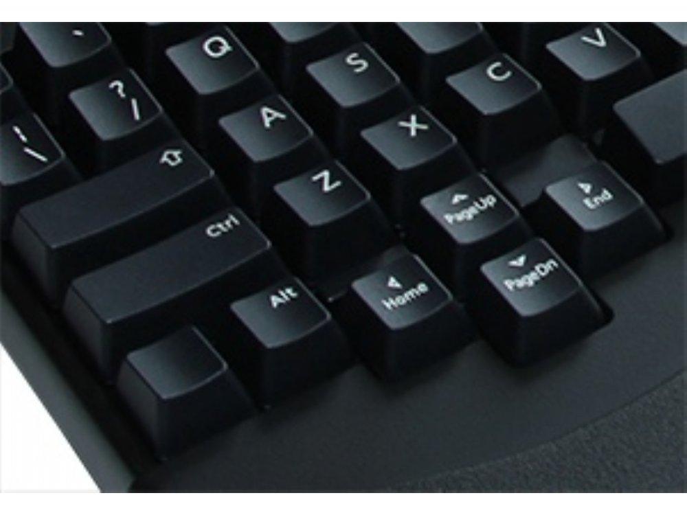 Truly Ergonomic 209 Mechanical Keyboard, Printed MX Brown Tactile 88 Key