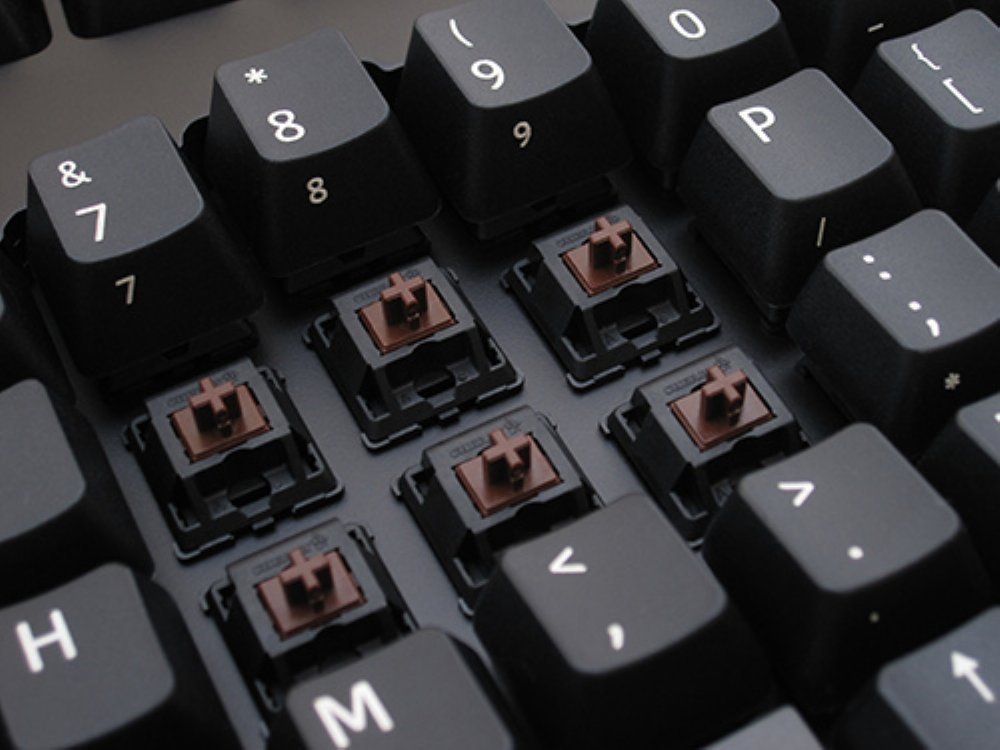 Truly Ergonomic 209 Mechanical Keyboard, Printed MX Brown Tactile 88 Key