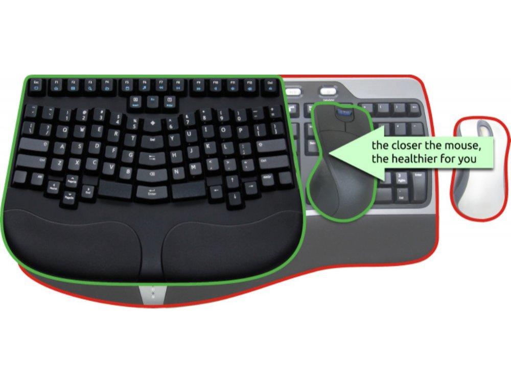 Truly Ergonomic 209 Mechanical Keyboard Printed Mx Brown