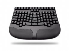 Truly Ergonomic 229 Mechanical Keyboard, Printed Soft Tactile Action 88 Key