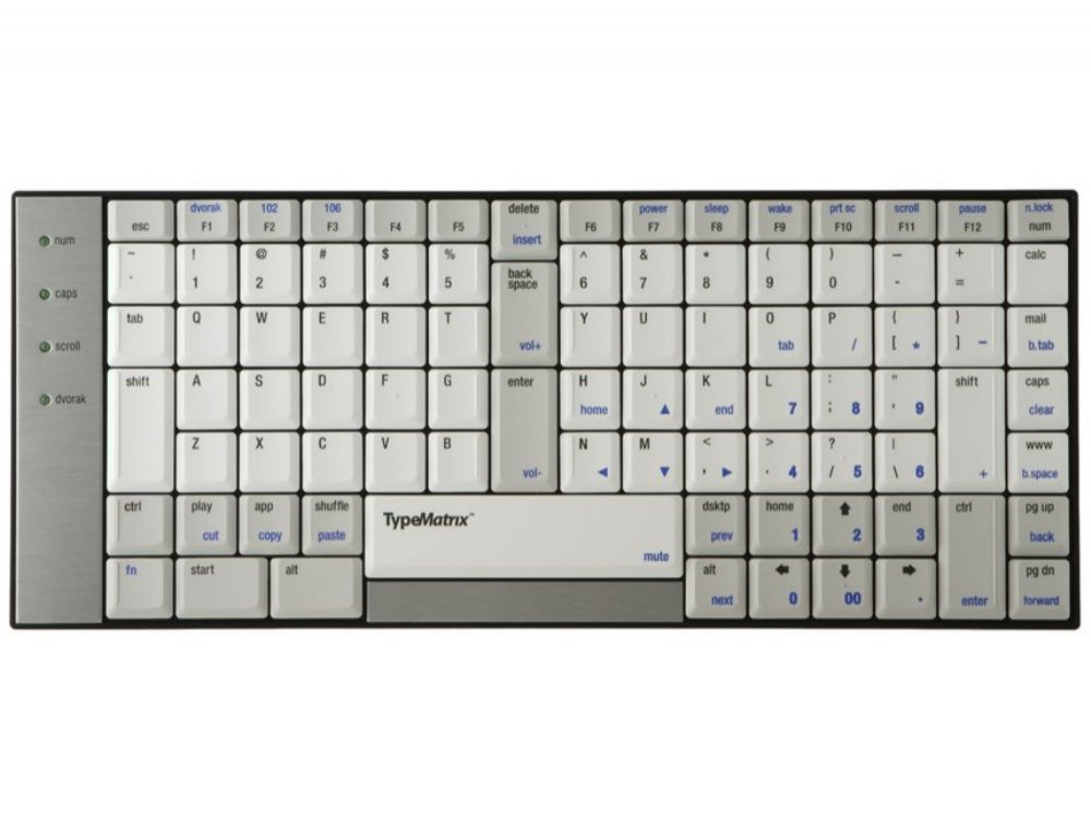 TypeMatrix 2030 USB - US Qwerty Keyboard, picture 1