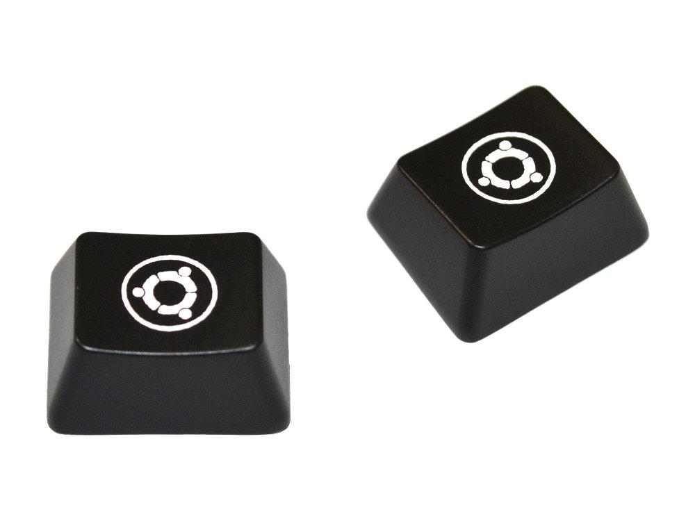 Ubuntu Logo, Windows Keys, 2 Keycaps, for Cherry MX Switches