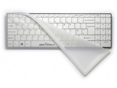 Clean Wipe Bluetooth Medical Grade Mini UK Keyboard Waterproof with Removable Cover