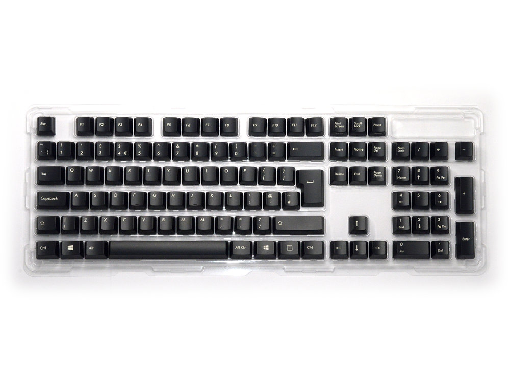UK Black Filco 105 Key Keyset Pack