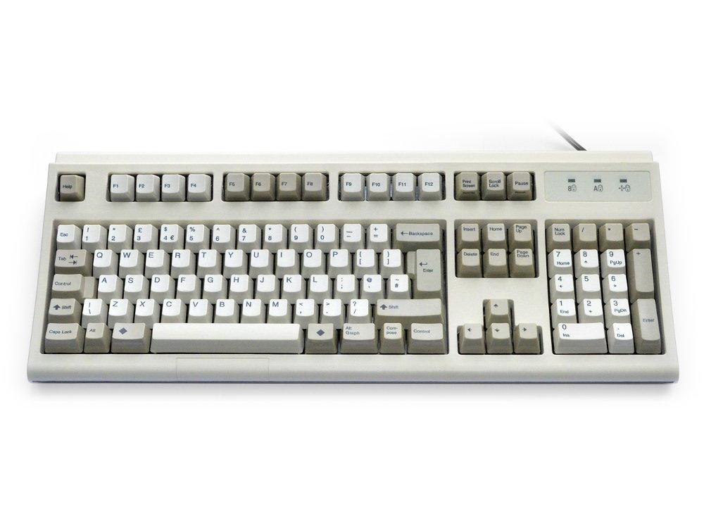 UK Sun Unix Ultra Classic IBM style Keyboard Beige USB