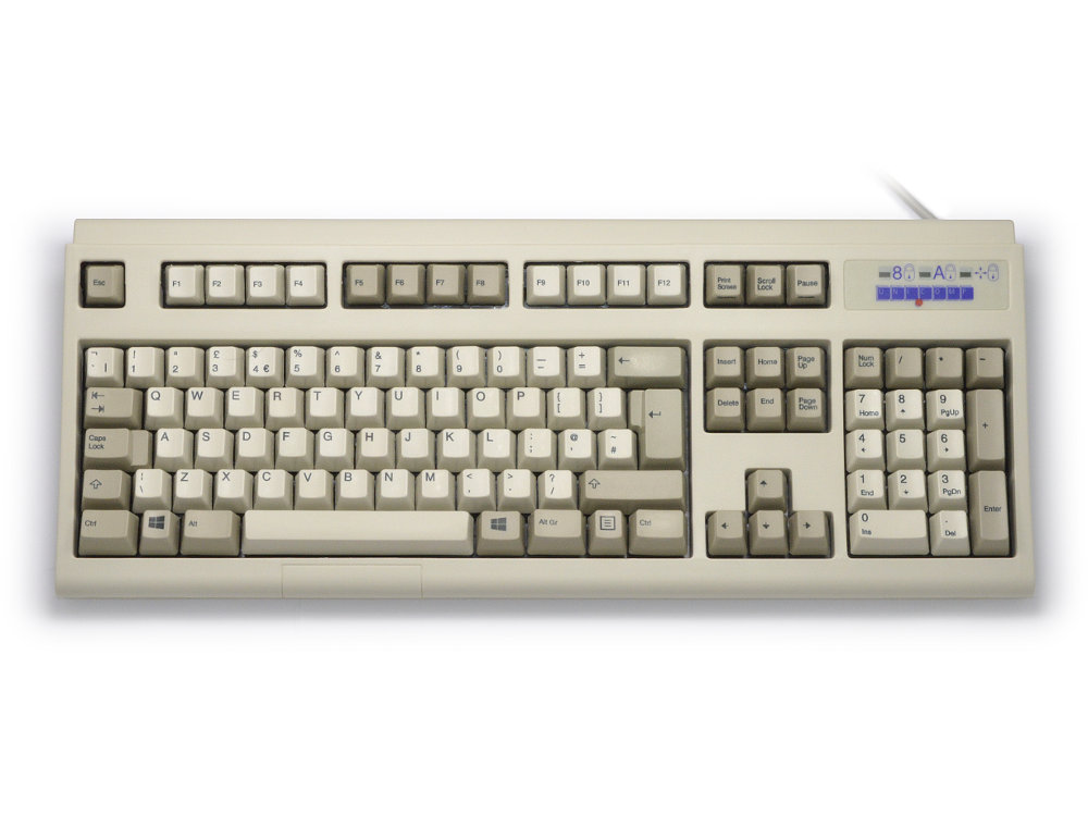 Ultra Classic IBM style keyboard, Beige USB, picture 1