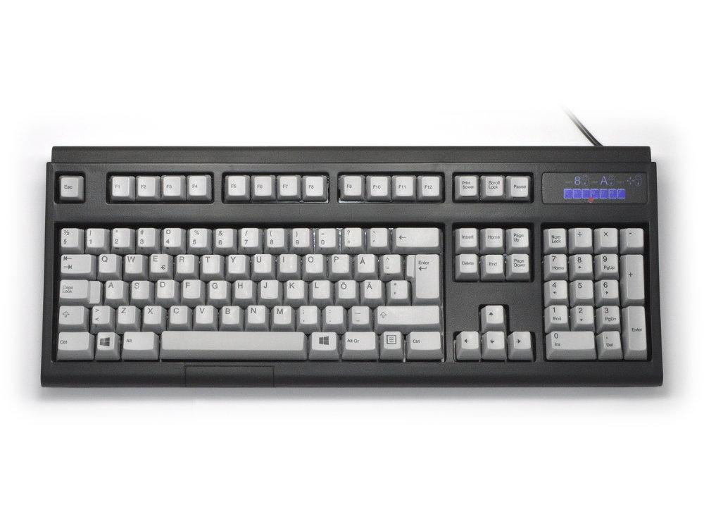 Swedish/Finnish Ultra Classic IBM style keyboard, Black USB