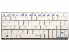 Ultra Slim White Bluetooth iPad Keyboard