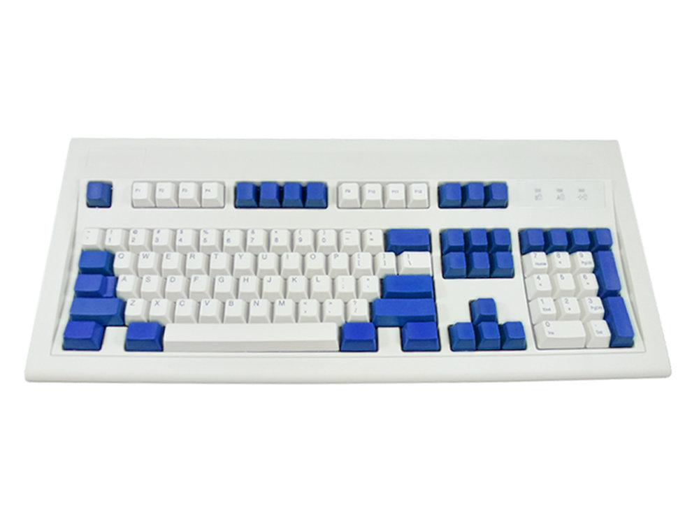 Unicomp Blue 37 Key ANSI Part Keyset