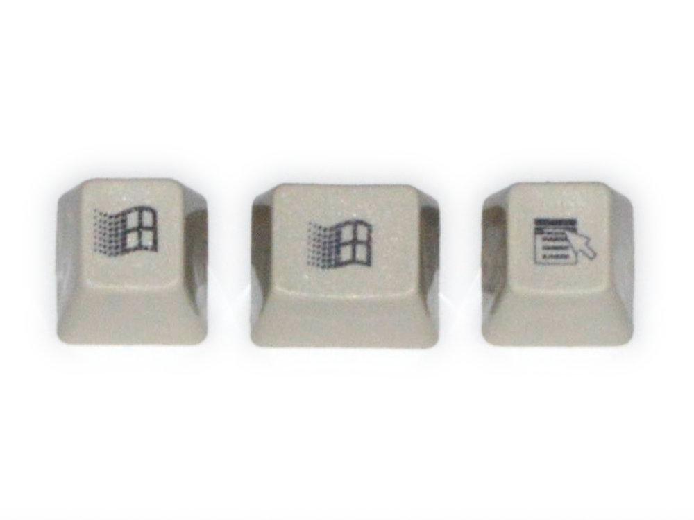 Unicomp Pebble Windows 95 Keyset