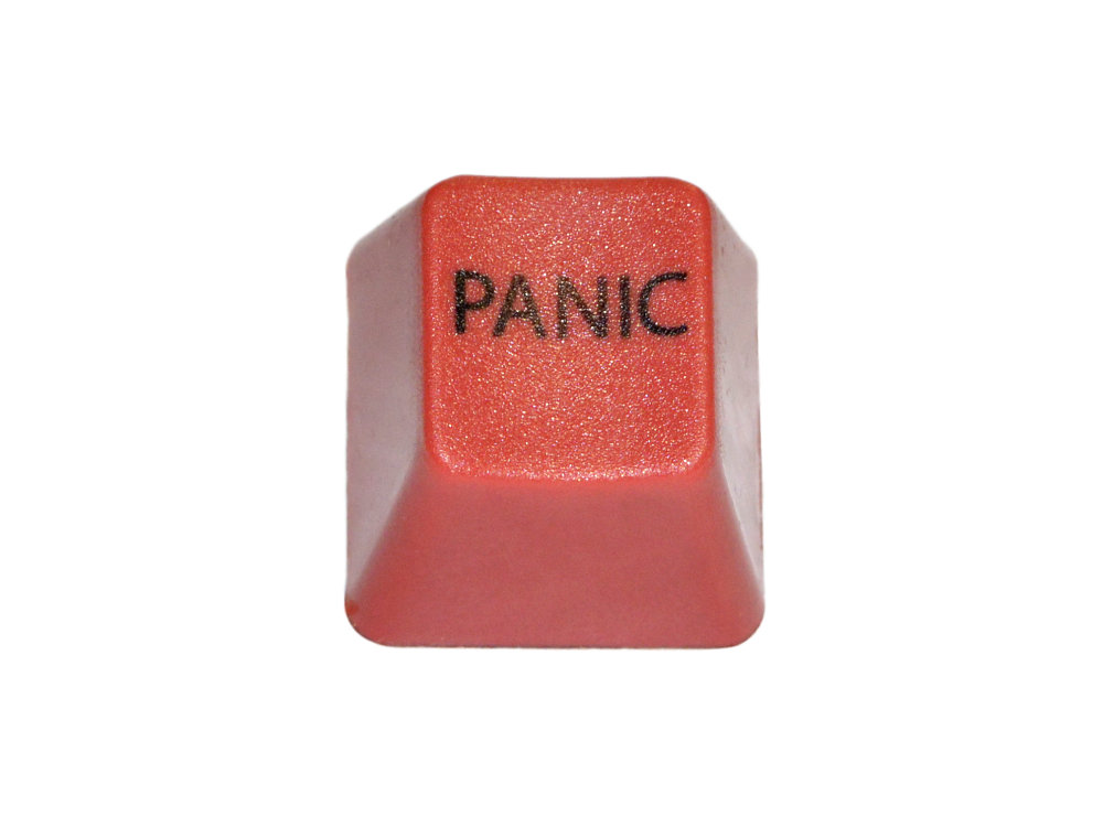 Unicomp Red PANIC Key