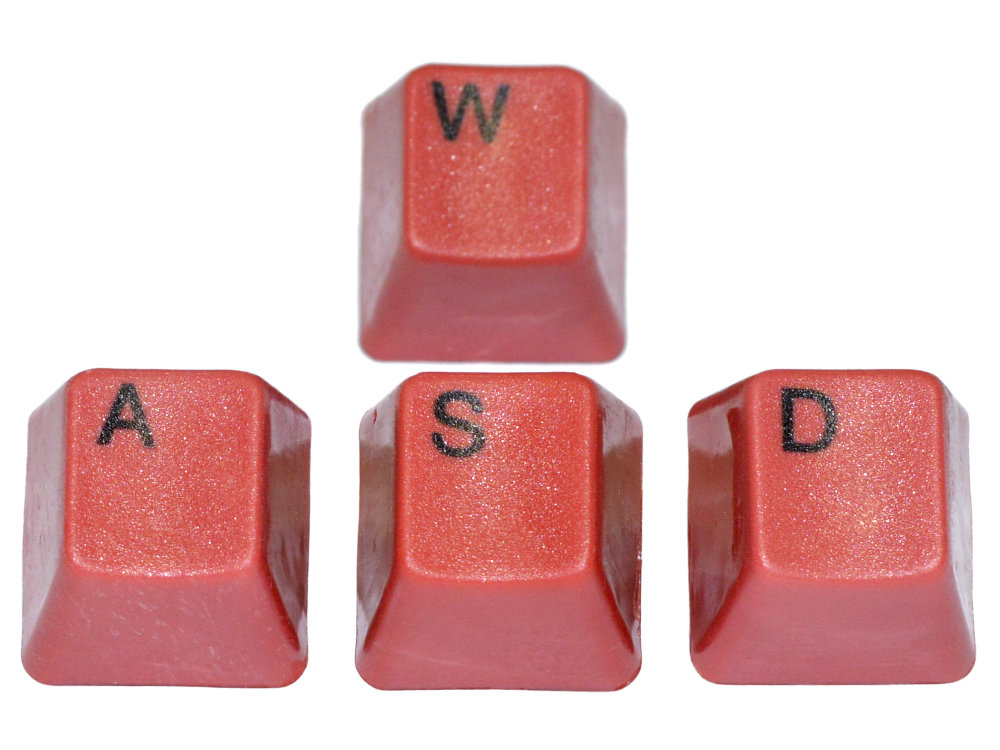 Unicomp Red WASD Keyset, picture 1