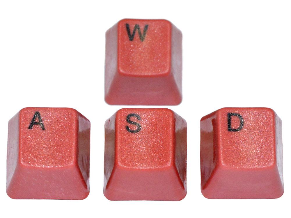 Unicomp Red WASD Keyset