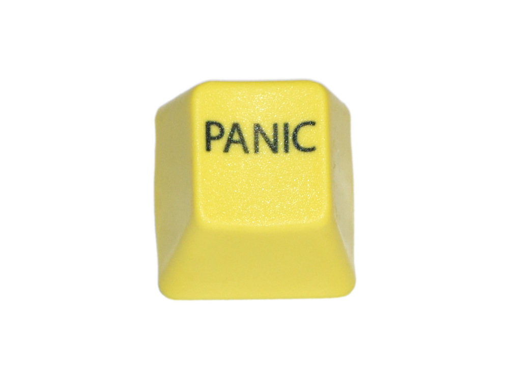Unicomp Yellow PANIC Key