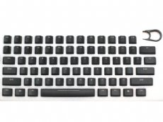 Universal Black Translucent Mechanical Keyboard Keycap Set