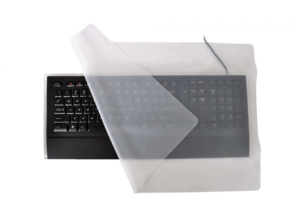 Type Through Keyboard Drape Infection Control