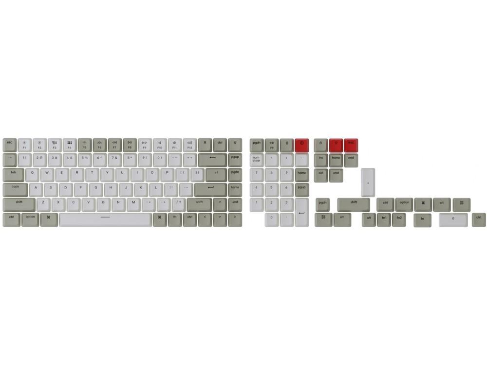 USA Keychron Full OEM Double Shot Keycap Set Retro