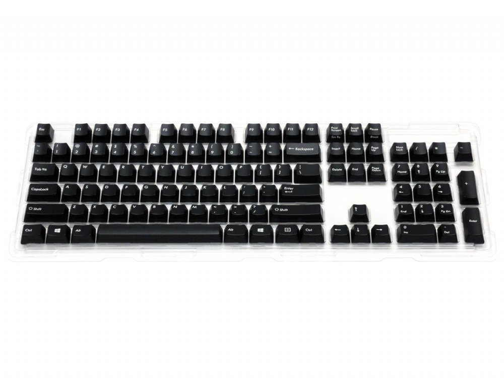 USA Black Filco 104 Key Keyset Pack