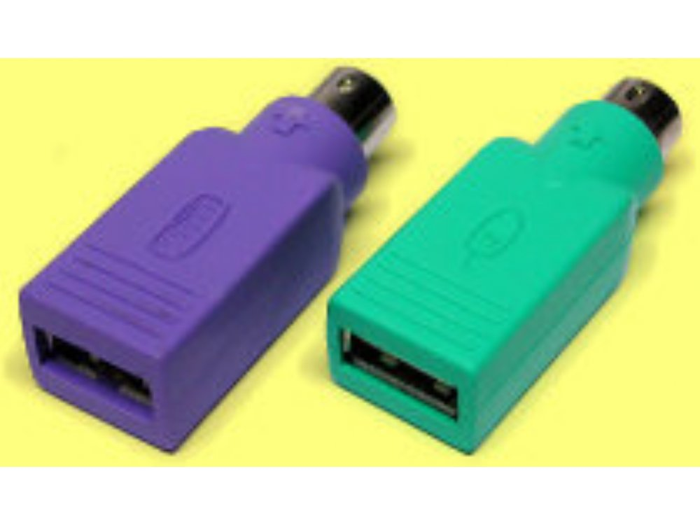 USB to PS/2 passive adapter
