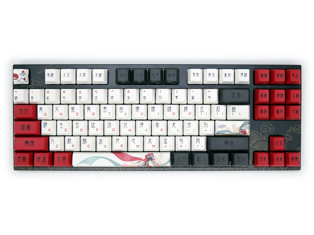 USA VA87M Beijing Opera PBT MX Brown Tactile Keyboard