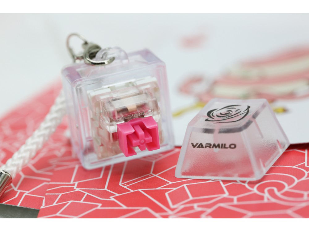 Varmilo Rose EC Switch Keyring