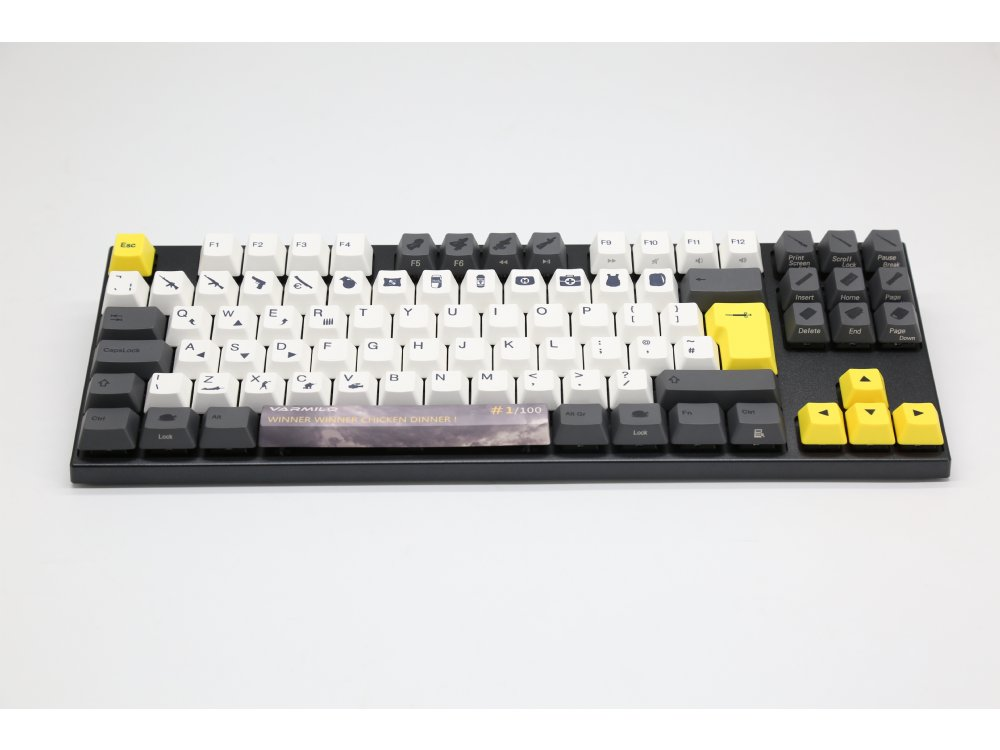 UK VA109M Chicken Dinner PBT Backlit MX Brown Tactile Keyboard