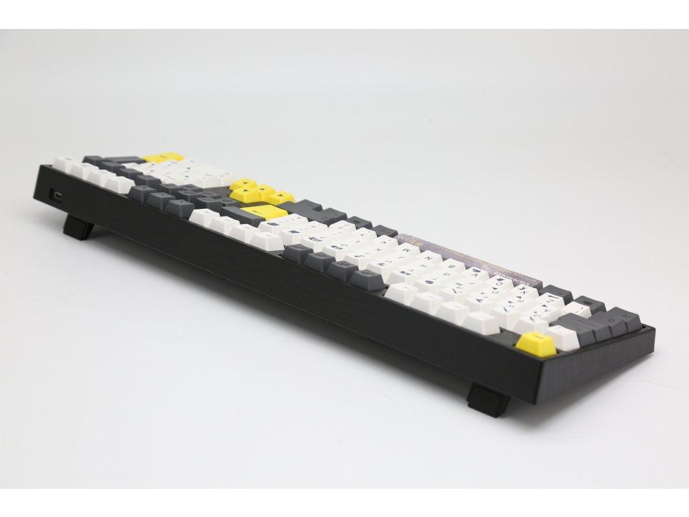 UK VA109M Chicken Dinner PBT Backlit Tactile Keyboard