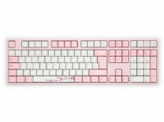 UK VA109M Sakura PBT Backlit MX Red Soft Linear Keyboard