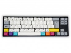 UK VA69M V3 CMYK Aluminium Backlit MX Clear Hard Tactile Keyboard