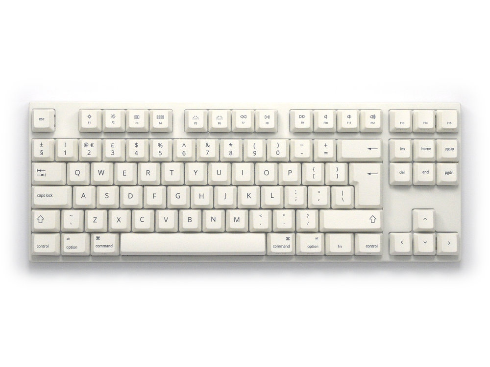 UK VA88Mac PBT Backlit MX Brown Tactile Mac Keyboard, picture 1