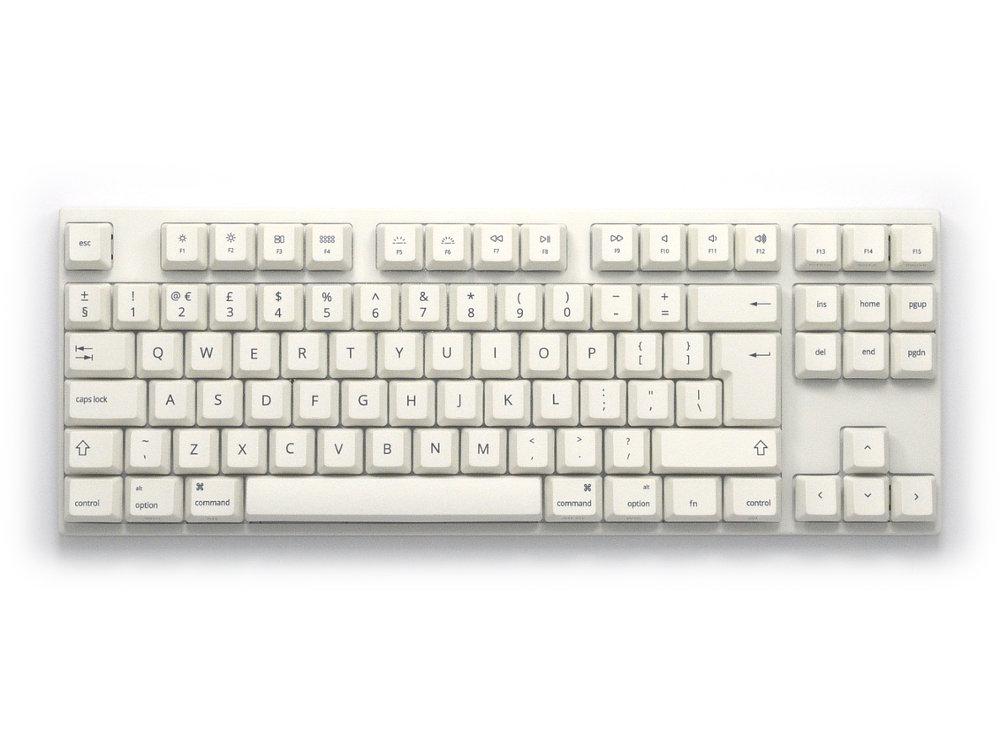 UK VA88Mac PBT Backlit Tactile Mac Keyboard