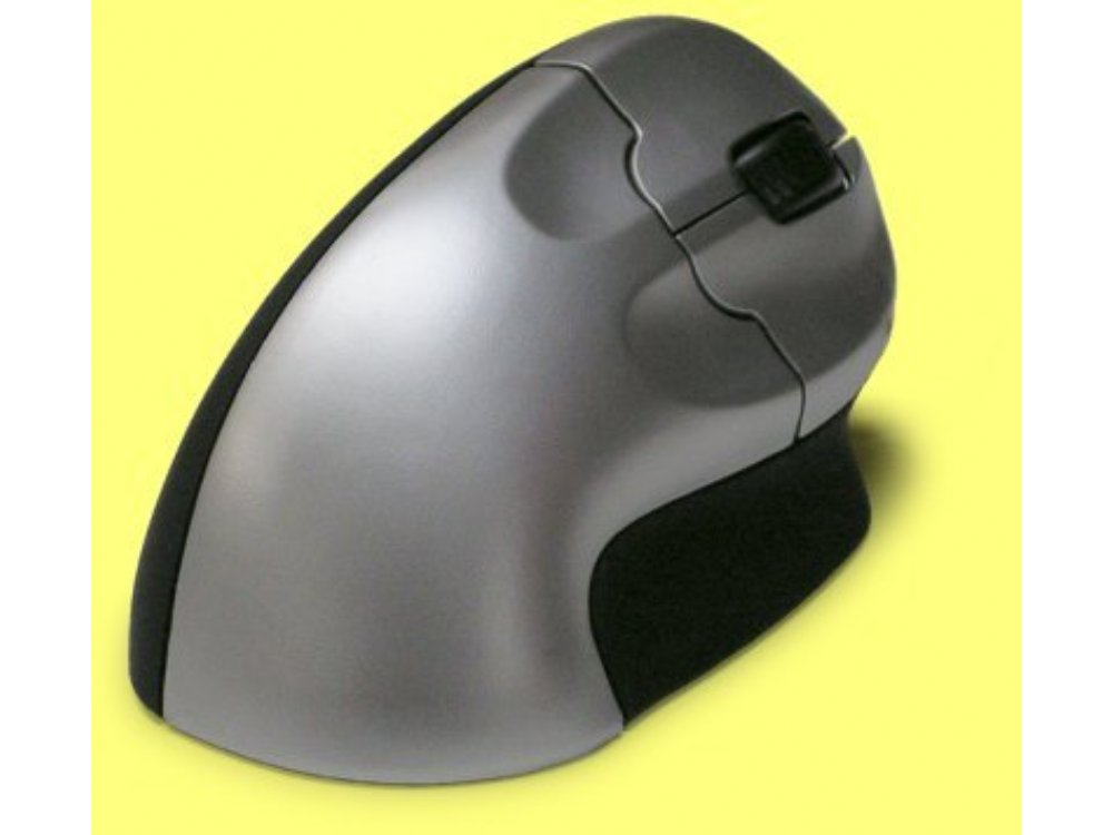 Vertical Grip mouse, wireless, optical USB, picture 1