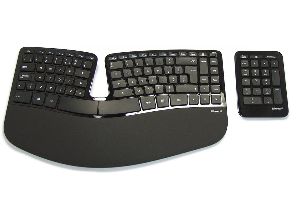the keyboard company After testing 13 ergonomic keyboards over the past three years, we've found that the microsoft sculpt ergo is still the most comfortable for most people.