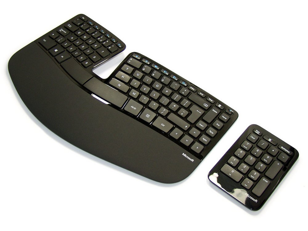 Wireless Sculpt Ergonomic Keyboard and Keypad : KBC-5260 : The Keyboard Company