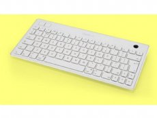 SuperMini SuperFlat Bluetooth Trackball Mac Keyboard