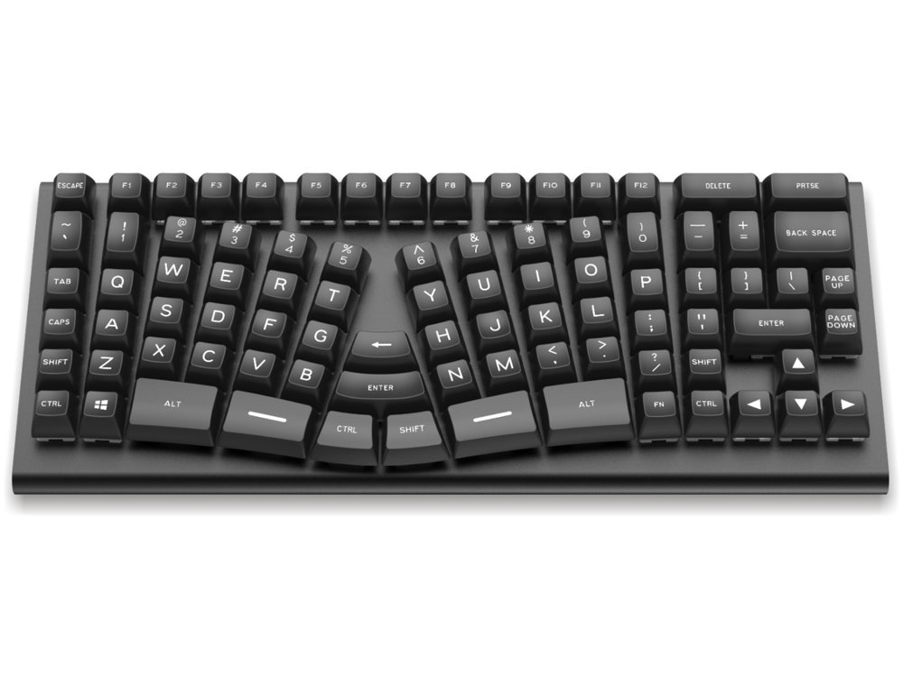 USA X-Bows Knight Ergonomic Tactile Mechanical Keyboard, picture 3