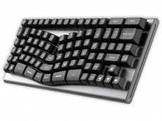 USA X-Bows Knight Ergonomic Tactile Mechanical Keyboard