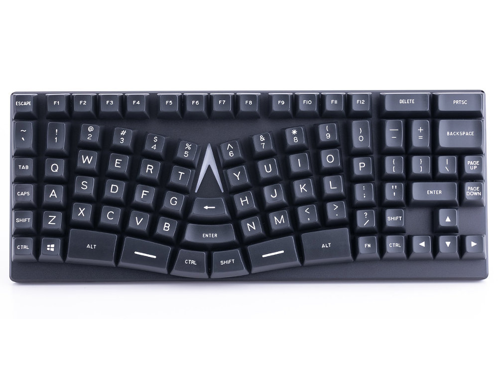 USA X-Bows Nature Ergonomic Optical Tactile Mechanical Keyboard, picture 1