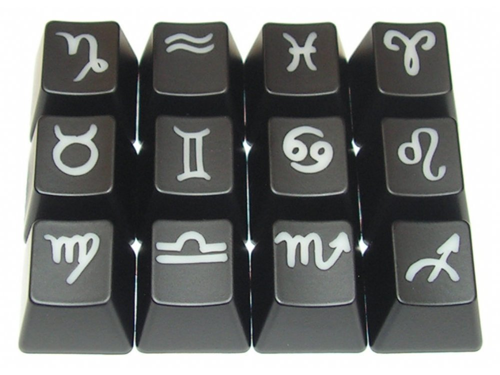 Cherry MX Zodiac Horoscope Keycap Set